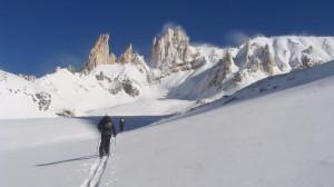 Florent -  Cerro torecillas, Vallée de Las Lenas, Mendoza (Argentine)