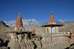 Luc - chörten de Tangge (Nepal)