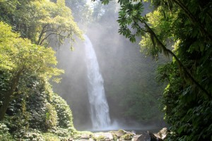 Laurent - Chute de NungNung, île de Bali (Indonésie)