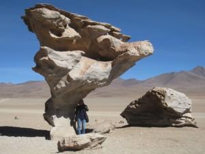 Christian - Arbol de Piedra, Reserve Eduardo Avaroa (Bolivie)