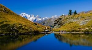Vincent - Lac de l'Oie dans le val d'aoste (Italie)