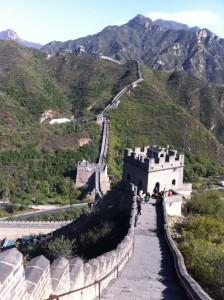 Odile - La grande muraille (Chine)