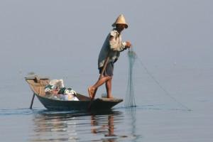 Walther - Lac Inlé (Birmanie)