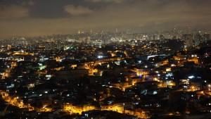 Florent - Vue depuis les favelas de Sao Paolo (Brésil)