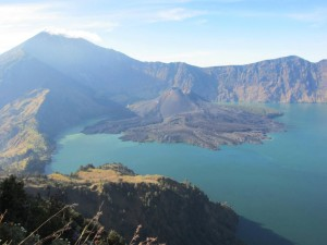 Isabel - Mt Rinjani (Lombok, Indonésie)